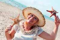 Senior Women Finding Starfish