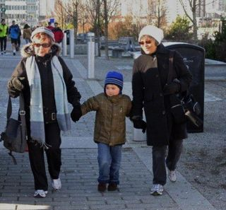 Family Walk in Vancouver