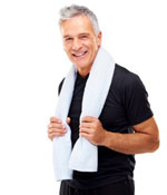 Fit Male With Towel